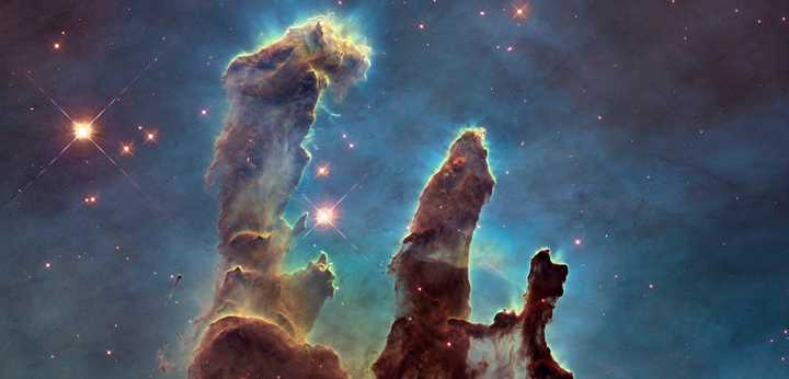 Pillars of Creation - Image Courtesy of NASA, ESA, and the Hubble Heritage Team.